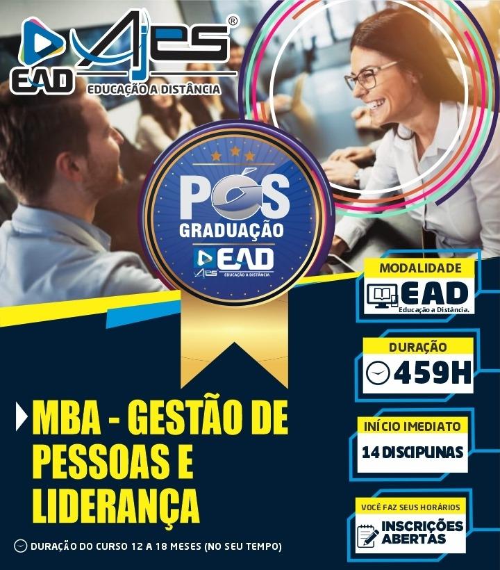 Especialização em MBA – GESTÃO DE PESSOAS E LIDERANÇA