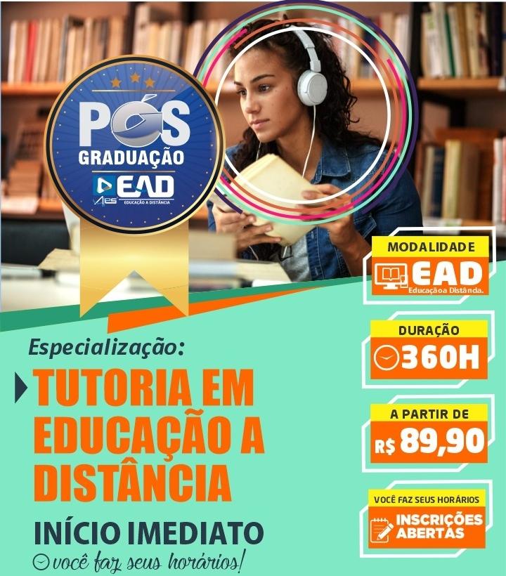 Especizalização Docente - TUTORIA EM EDUCAÇÃO A DISTÂNCIA