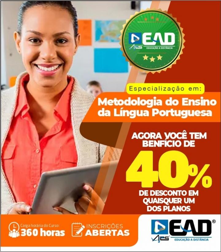Especialização em Metodologia do Ensino da Língua Portuguesa