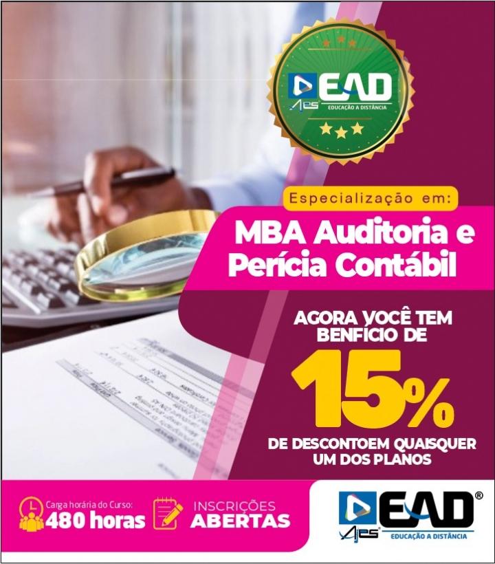 Especialização em MBA Auditoria e Perícia Contábil