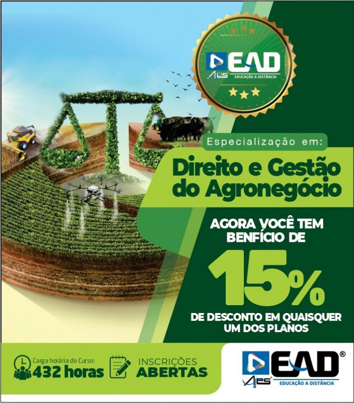 Especialização em Direito e Gestão do Agronegócio