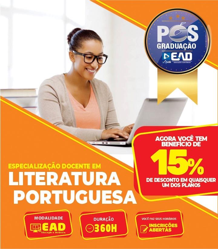Especialização Docente em LITERATURA PORTUGUESA