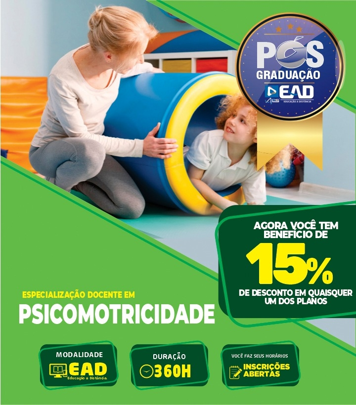 Especialização em PSICOMOTRICIDADE