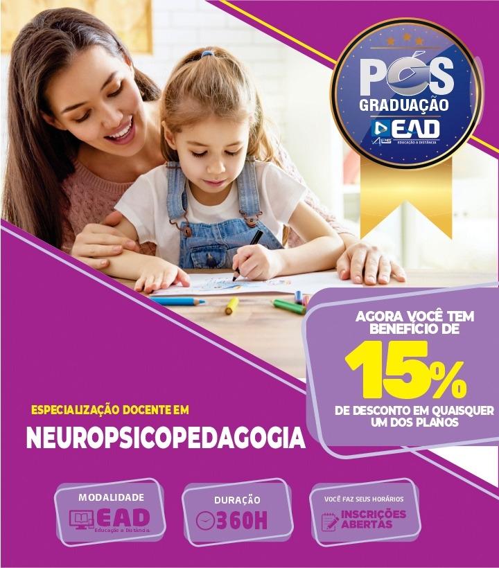 Especialização em NEUROPSICOPEDAGOGIA