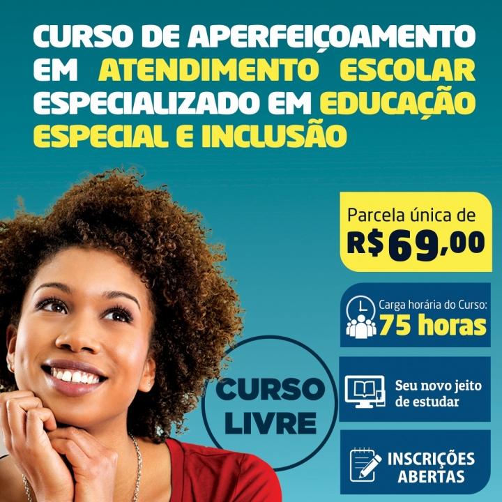 Curso de Aperfeiçoamento em Atendimento Escolar Especializado em Educação Especial e Inclusão