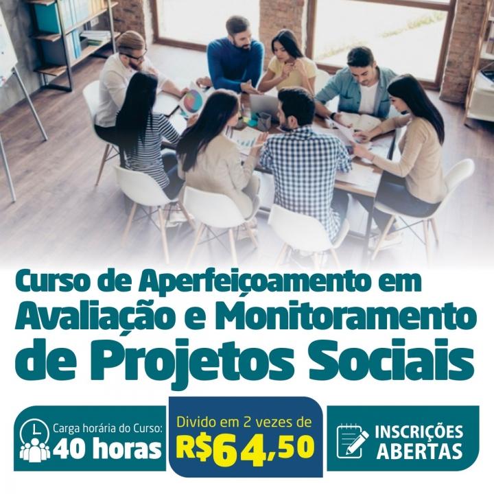 Curso de Aperfeiçoamento em Avaliação e Monitoramento de Projetos Sociais