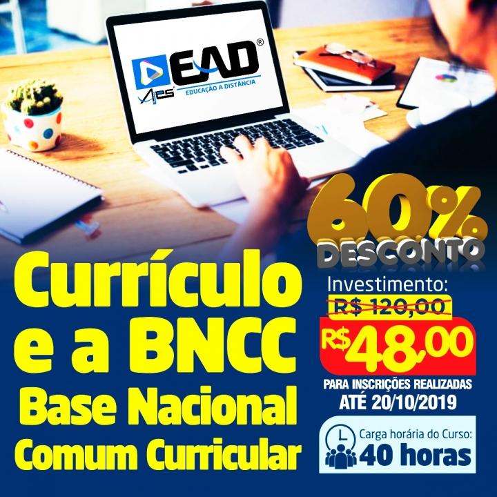 Currículo e a BNCC – Base Nacional Comum Curricular