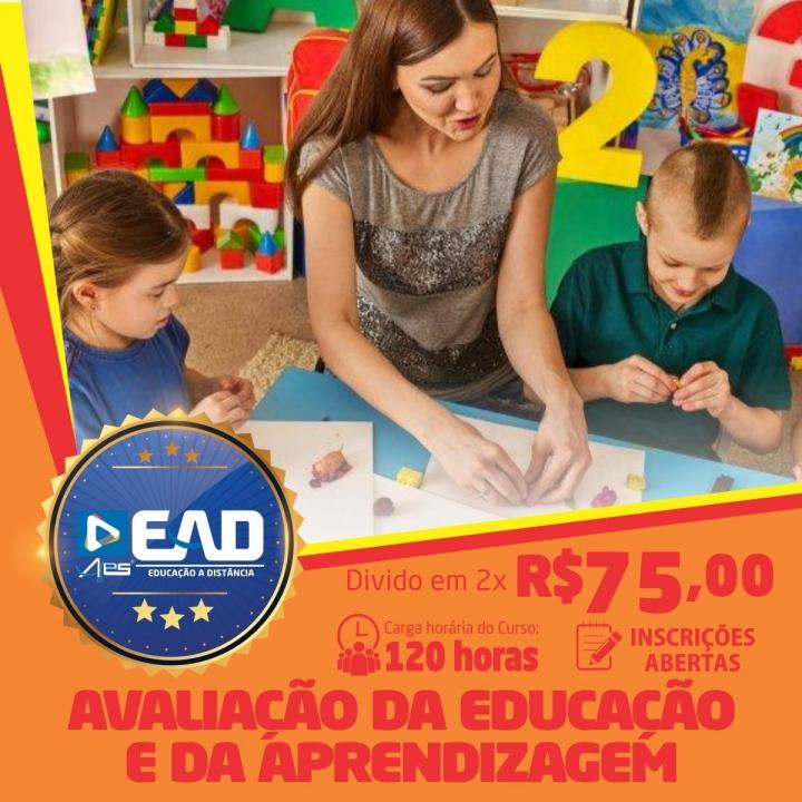 Curso de Formação Continuada em Avaliação da Educação e da Aprendizagem