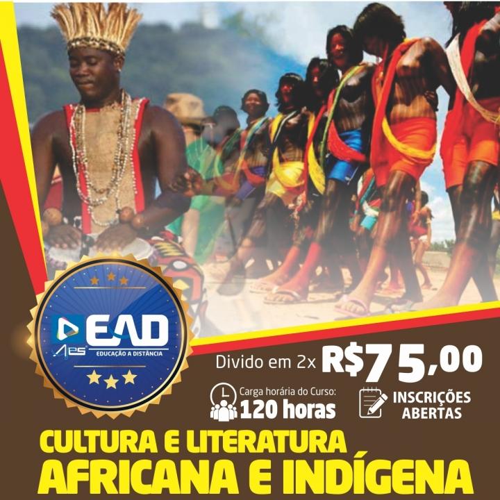 Curso de Formação Continuada em Cultura e Literatura Africana e Indígena