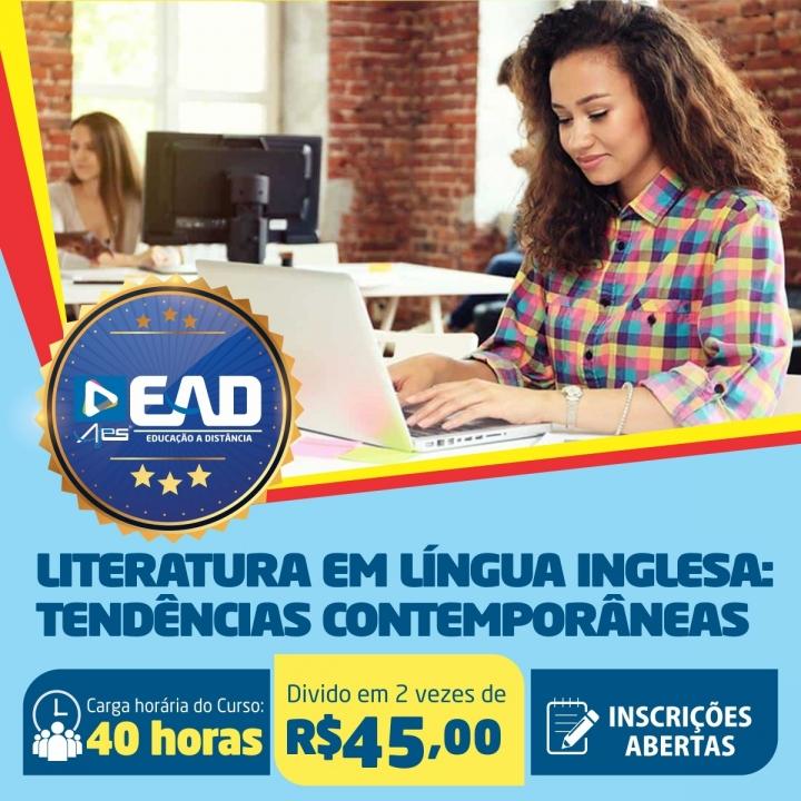 Curso de Extensão em Literatura em Língua Inglesa: tendências contemporâneas