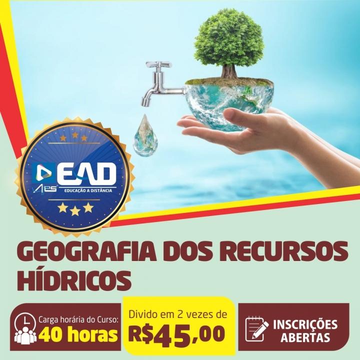 Curso de Extensão em Geografia dos Recursos Hídricos