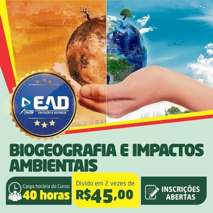 Curso de Extensão em Biogeografia e Impactos Ambientais