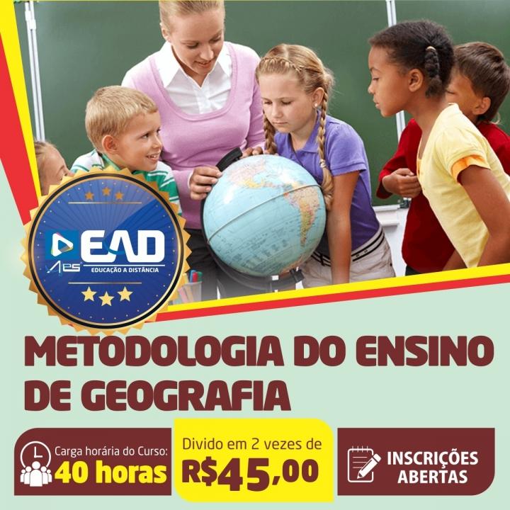 Curso de Extensão em  Metodologia do Ensino de Geografia
