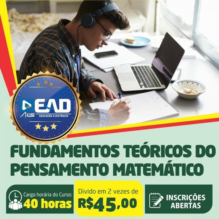 Curso de Extensão em Fundamentos Teóricos do Pensamento Matemático