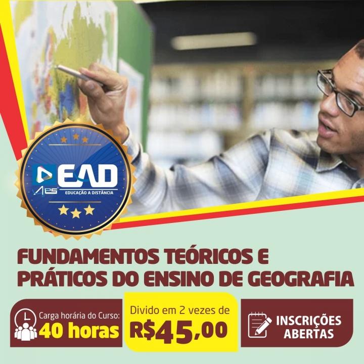 Curso de Extensão em Fundamentos Teóricos e Práticos do Ensino de Geografia