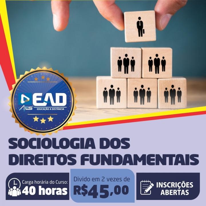 Curso de Extensão em  Sociologia dos Direitos Fundamentais