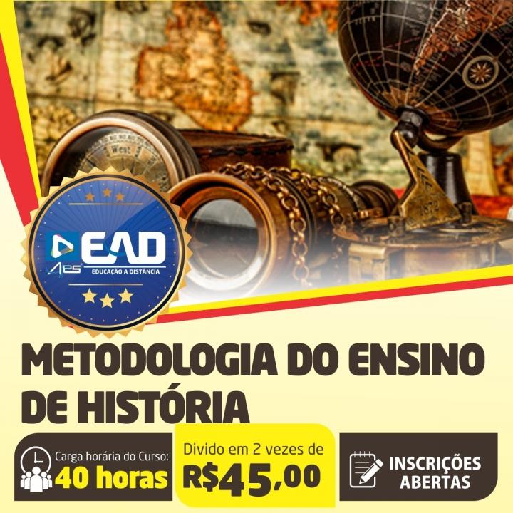 Curso de Extensão em  Metodologia do Ensino de História