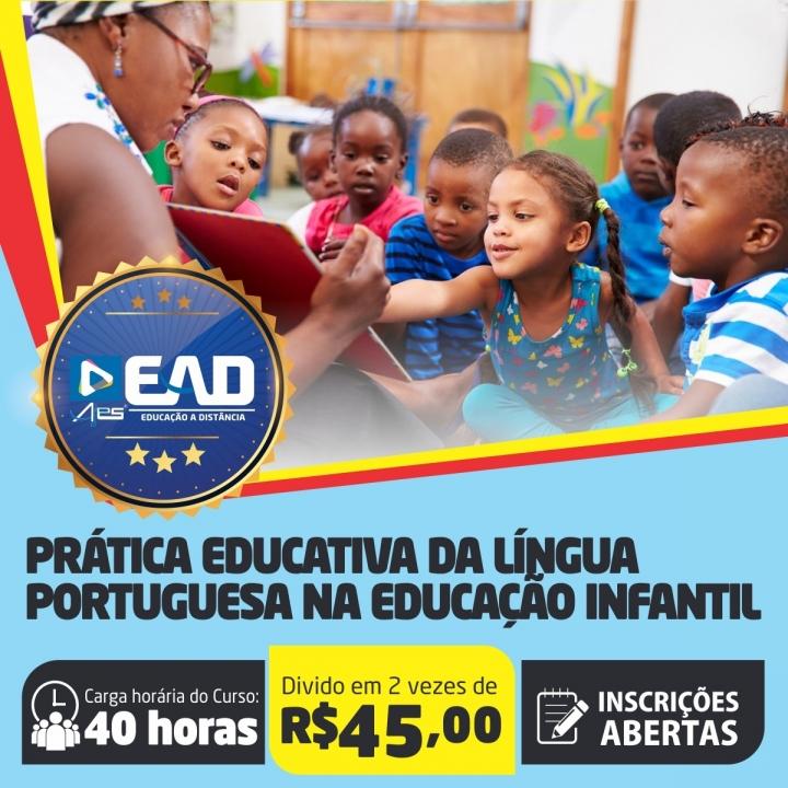 Curso de Extensão em  Prática Educativa da Língua Portuguesa na Educação Infantil
