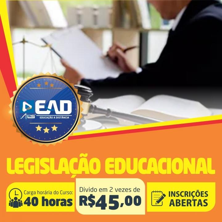 Curso de Aperfeiçoamento em  Legislação Educacional