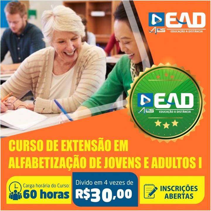 Curso de extensão em Alfabetização de Jovens e Adultos I