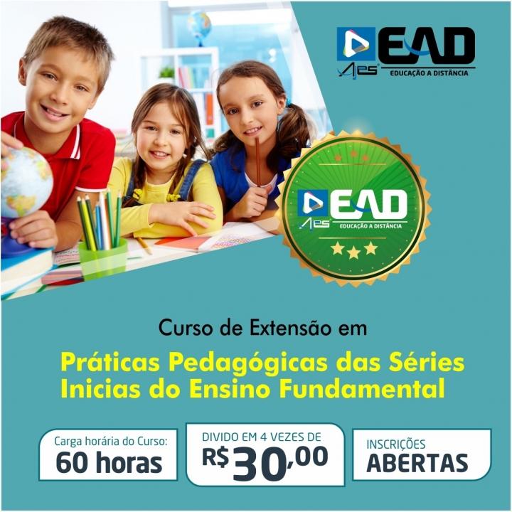 Curso de extensão em Práticas Pedagógicas das Séries Inicias do Ensino Fundamental