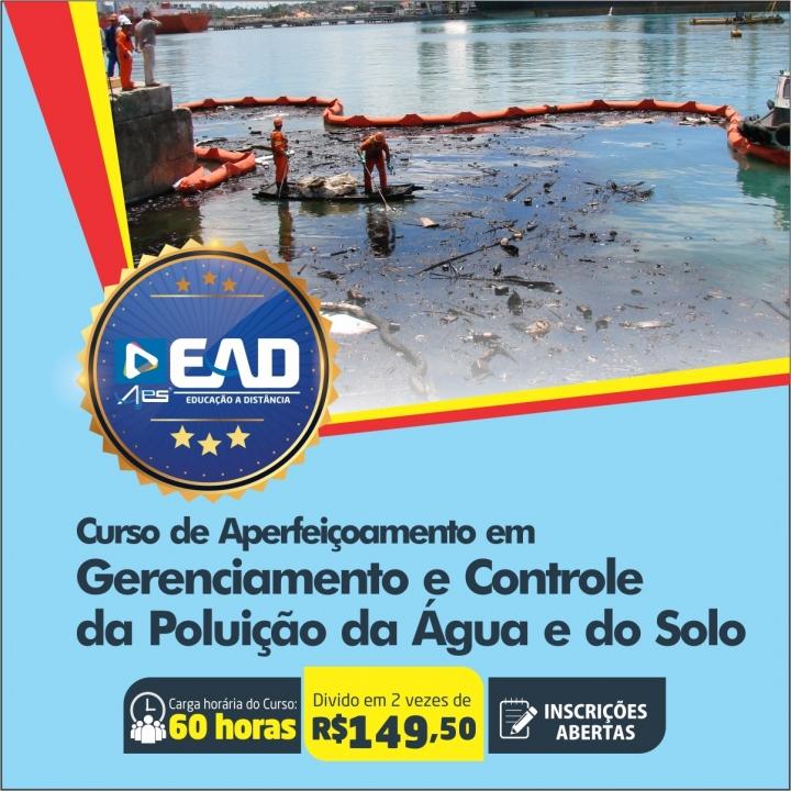 Curso de Aperfeiçoamento em Gerenciamento e Controle da Poluição da Água e do Solo