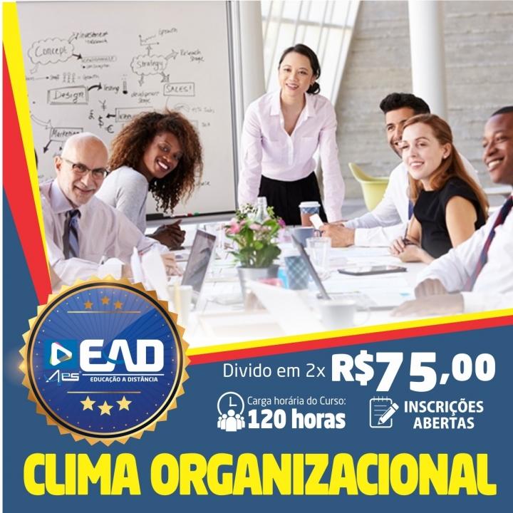 Curso de Formação Continuada em Clima Organizacional