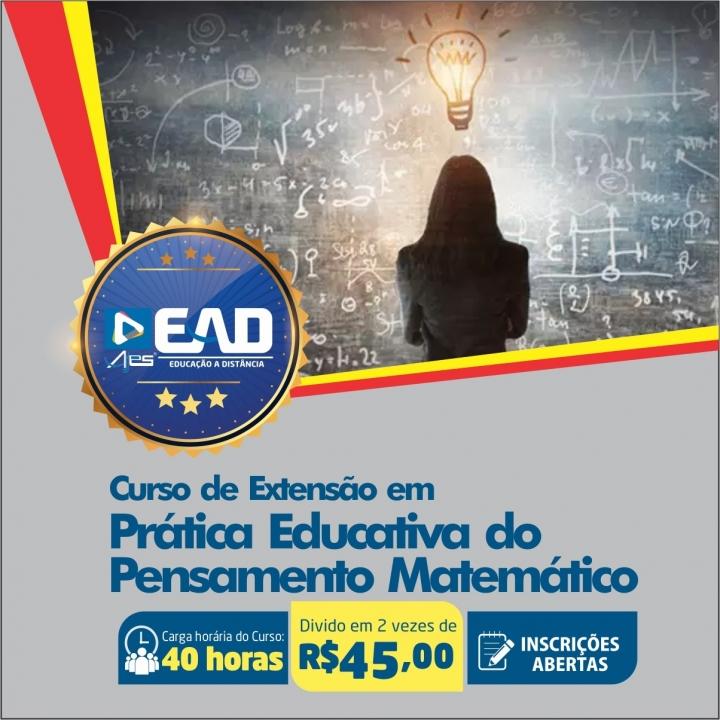 Curso de Extensão em  Prática Educativa do Pensamento Matemático