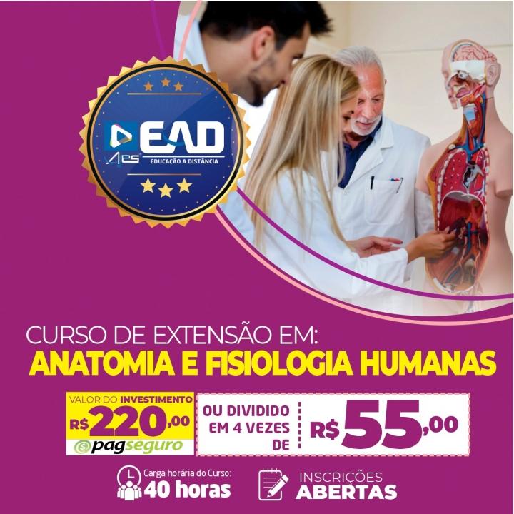 Curso de Extensão em  Anatomia e Fisiologia Humanas