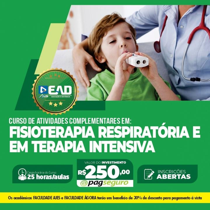 Curso de Atividades Complementares em Fisioterapia respiratória e em Terapia Intensiva