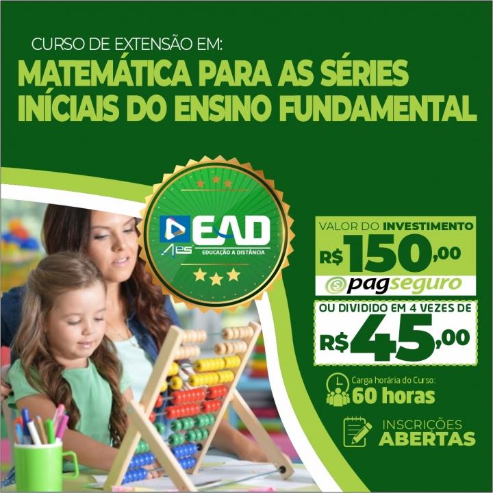 Curso de extensão em Matemática para as Séries Iniciais do Ensino Fundamental
